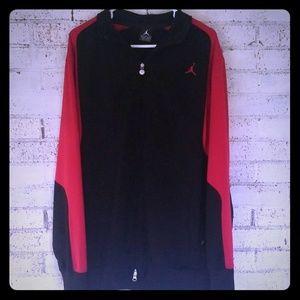VTG Jordan full Zip  warmup/track jacket bulls L